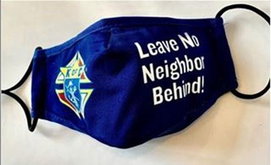 Idaho-Knights-of-Columbus-leave-no-neighbor-behind-Masks